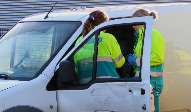 Opnieuw ongeval op Osse kruising. (Foto: Gabor Heeres / Foto Mallo)  © Kliknieuws Oss