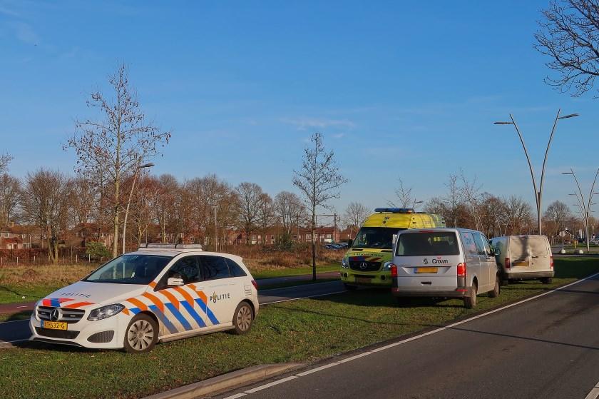 Opnieuw ongeval op Osse kruising. (Foto: Gabor Heeres / Foto Mallo)