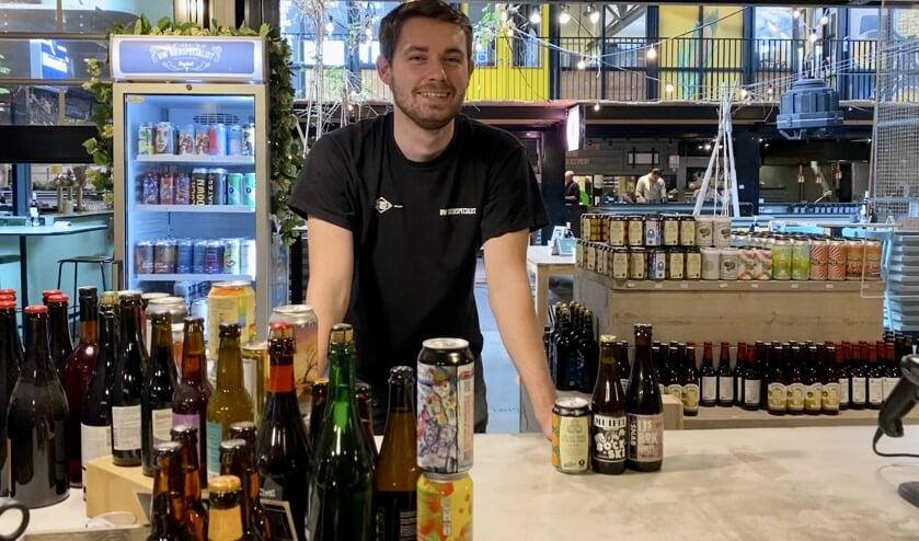 Kevin van Uw Bierspecialist op de Noordkade tipt drie biertjes.