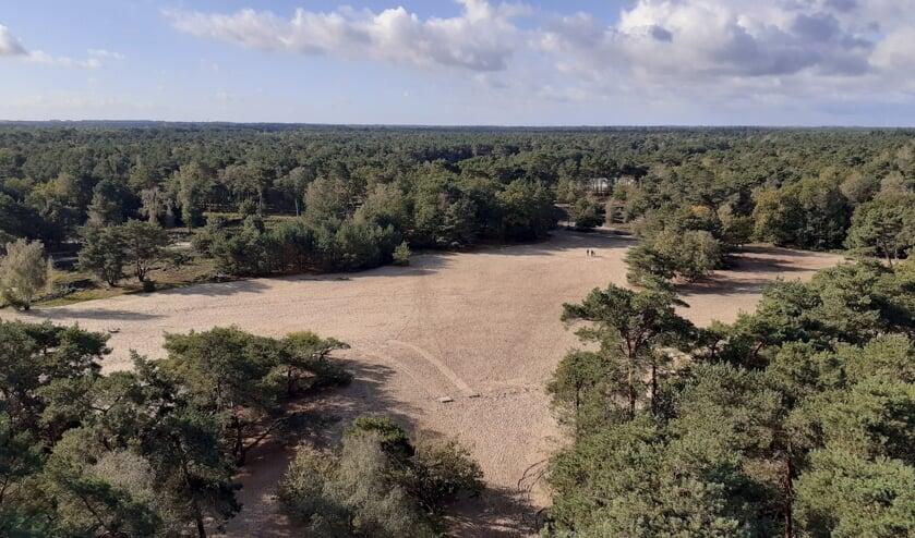 <p>Uitzicht vanaf de uitkijktoren. (Foto: Robert van Berkum)</p>