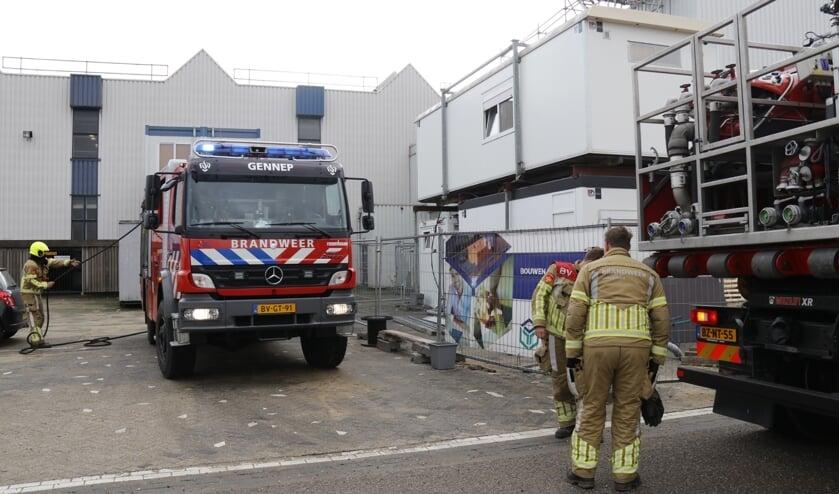 <p>Zowel de brandweer uit Gennep als Oeffelt is aanwezig.</p>