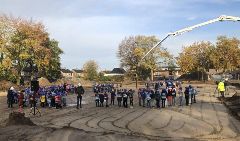 Start van de nieuwbouw in Herpen. (Foto: Kees van Geffen)