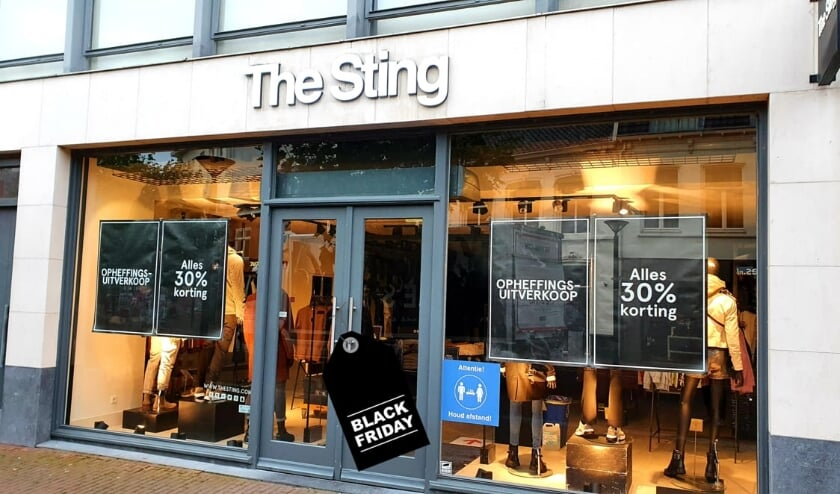 The Sting in het Osse centrum. (Foto: Jack van Lieshout)