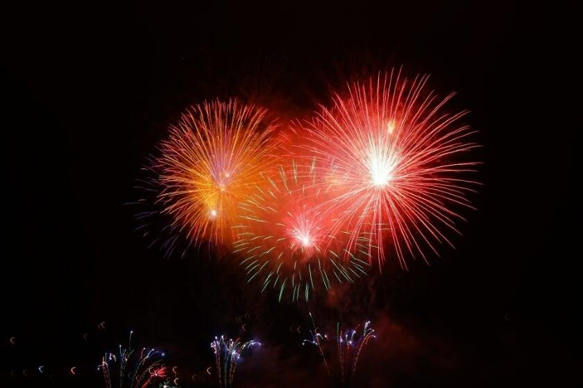 <p>Hopelijk is er ook een spectaculaire vuurwerkshow.</p>