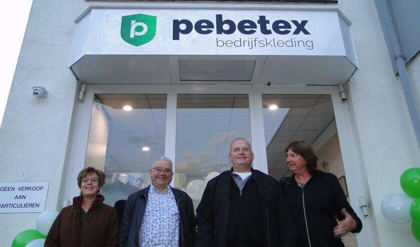 <p>Hennie Kwinten, Peter Kwinten, Ben Huijbers en Monique Huijbers.</p>