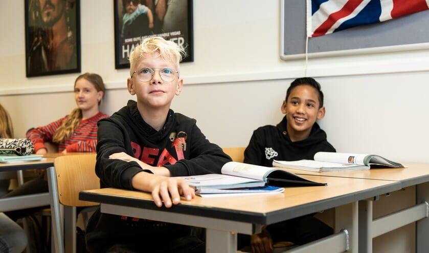 <p>Deze leerlingen kozen een jaar geleden voor het Elzendaalcollege.&nbsp;</p>