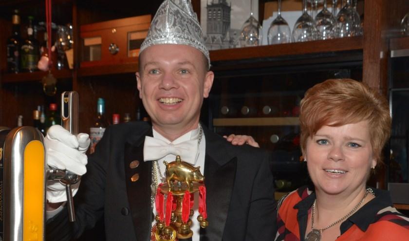Roland met zijn vrouw Ilse.