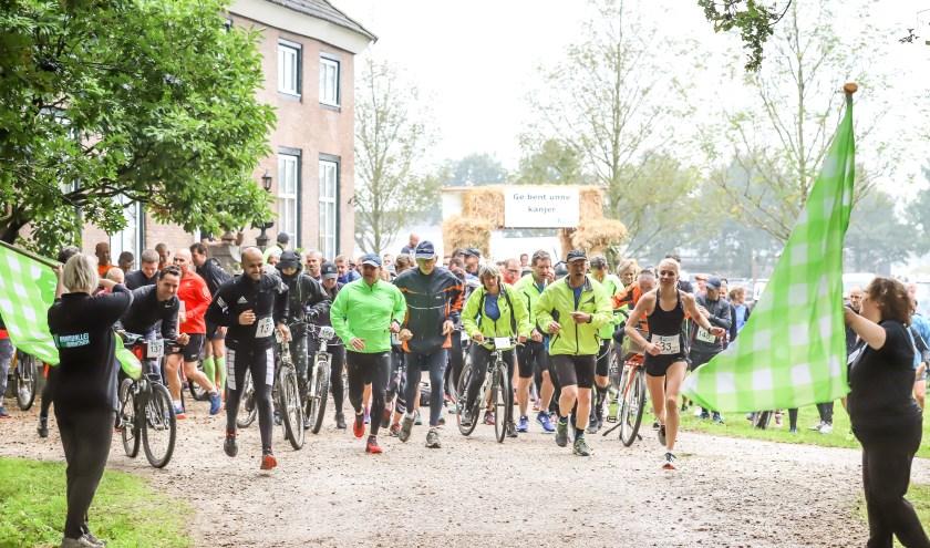 De Raamvallei Duomarathon in de omgeving Mill is inmiddels een mooie traditie.