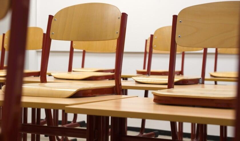 <p>De klaslokalen blijven voorlopig leeg.&nbsp;</p>