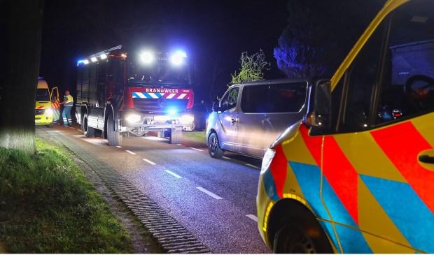Ongeval in Heesch. (Foto: Gabor Heeres / Foto Mallo)  © Kliknieuws Oss