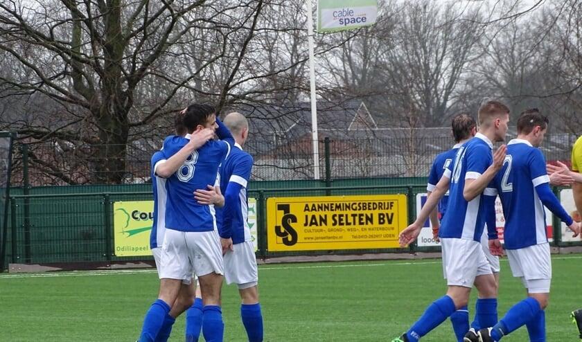 FC De Rakt is gepromoveerd.