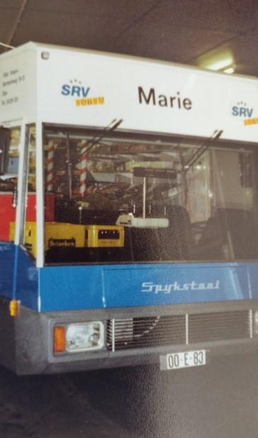 De SRV wagen van Mari Vissers.