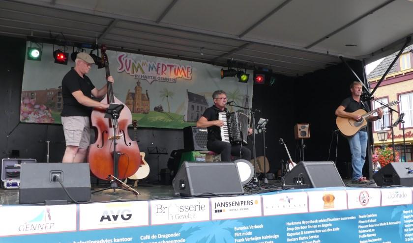Met de Millse band 'Reel to Real' belooft de Ierse Middag weer een groot succes te worden.