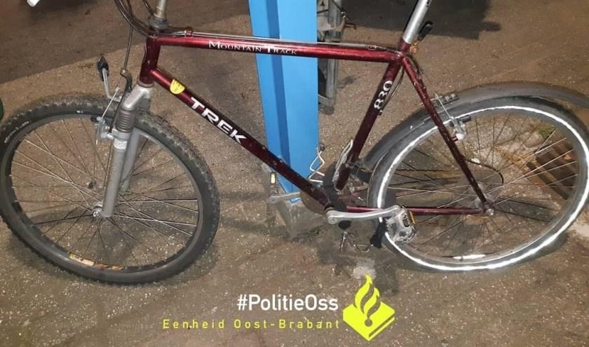 De fietsen. (Foto: Facebook politie Oss)