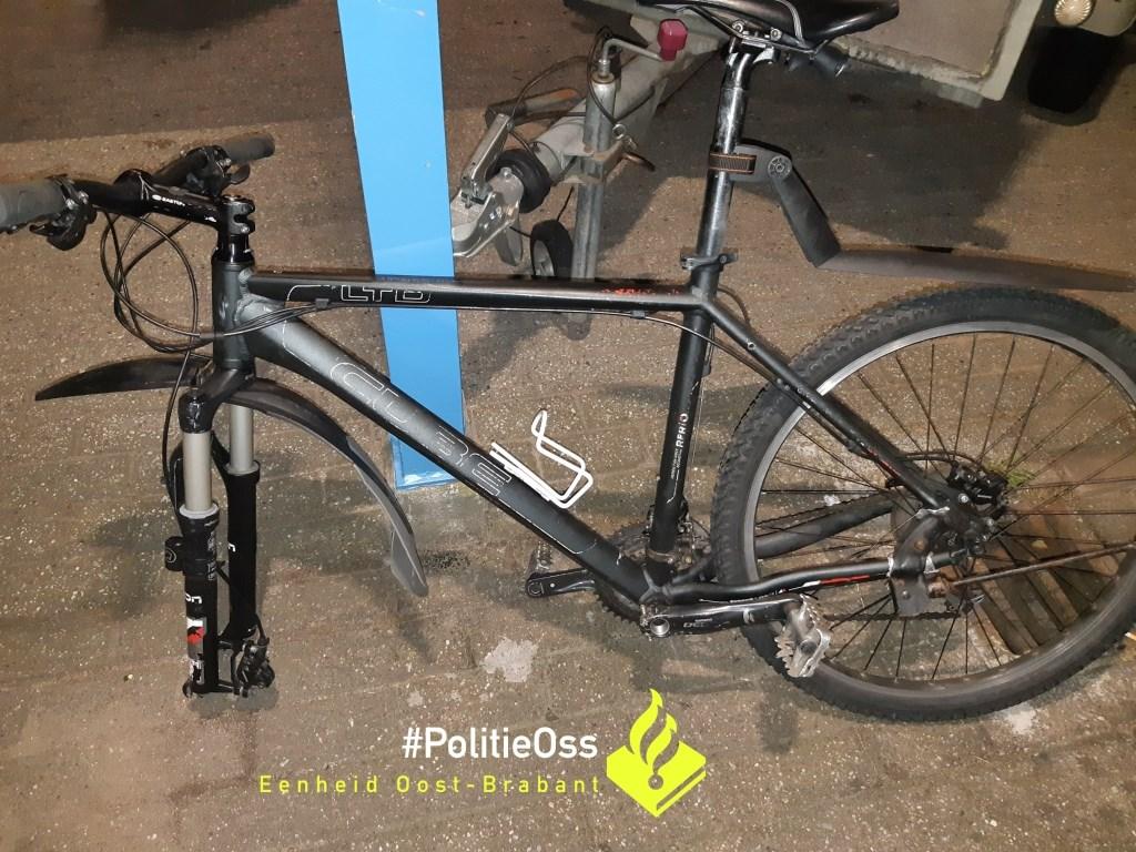 De fietsen. (Foto: Facebook politie Oss)  © 112 Brabantnieuws