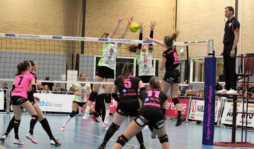 FAST is al bezig met de voorbereidingen voor het nieuwe volleybalseizoen. (foto: Jurgen Peters)