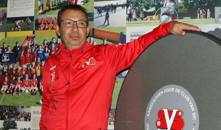 Zoran Gulev blijft hoofdtrainer van SVS.
