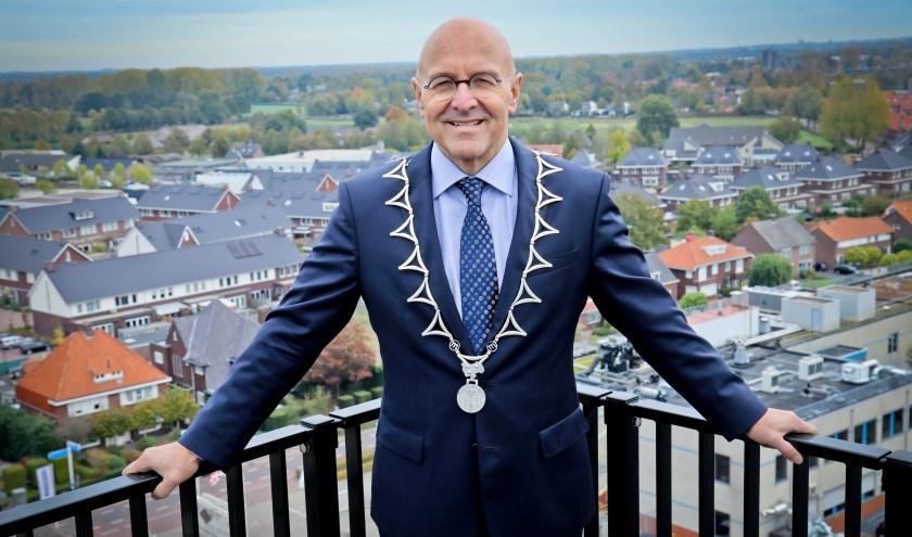 De burgemeester is trots ophoe deinwonersvan Meierijstadzich houden aan de Coronamaatregelen.
