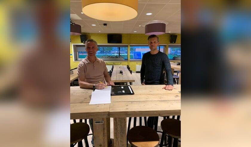 Johan van Osch en Jordi van Sinderen.