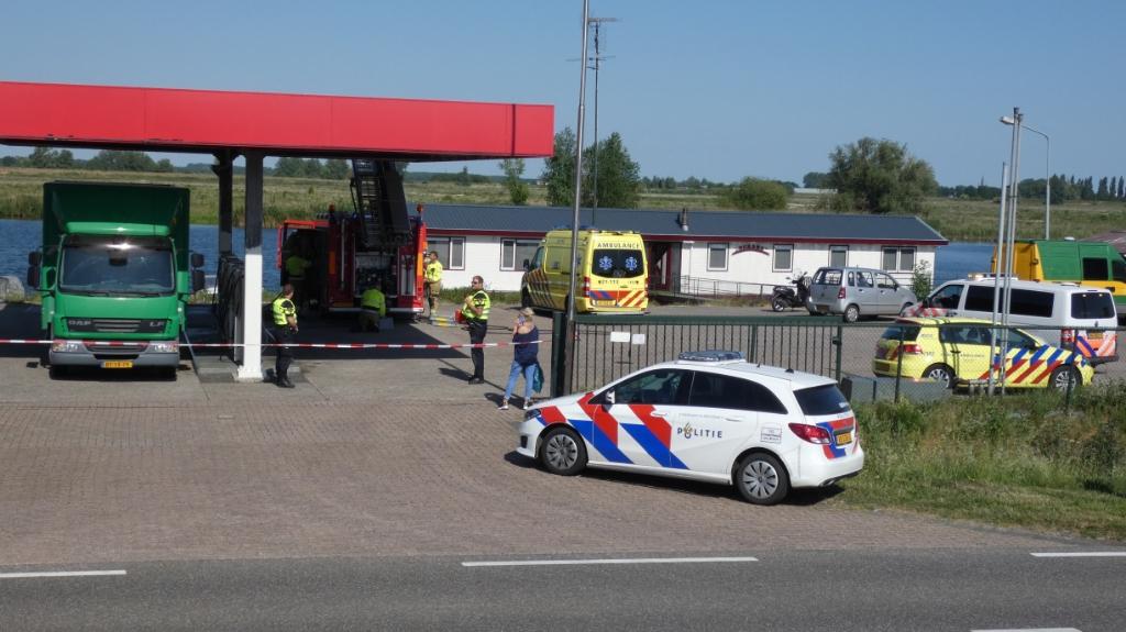 Hulpdiensten in Lithoijen. (Foto: Thomas)  © 112 Brabantnieuws
