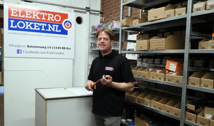 Alex van Berkum van Elektroloket.
