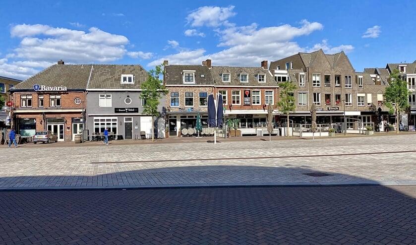 <p>De lege Markt in Veghel.</p>