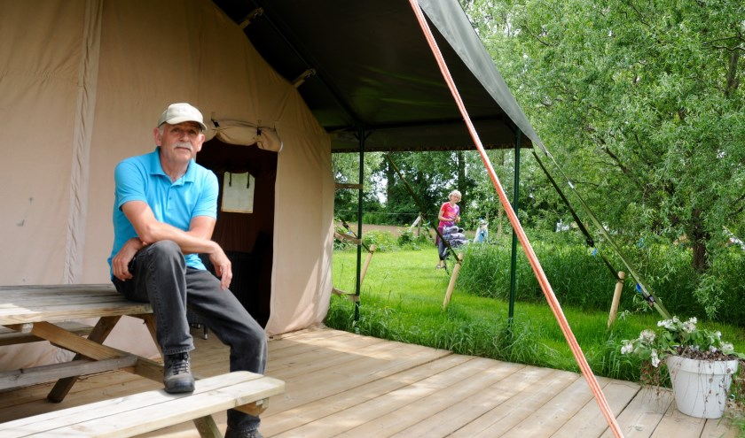 Ed Steiger van Natuurkampeerterrein De Maasakker.