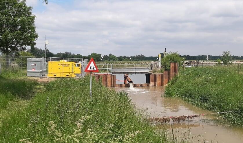 Sambeekse Uitwatering wordt wederom tijdelijk inlaatpunt voor Maaswater