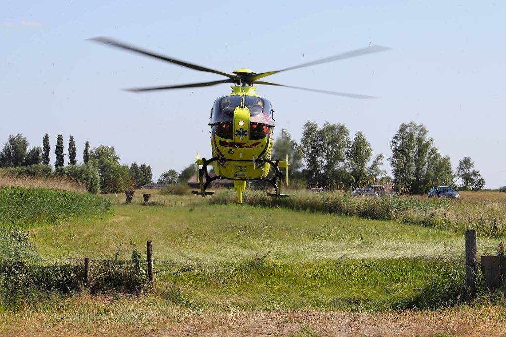 Traumahelikopter. (Foto: Gabor Heeres, Foto Mallo)  © 112 Brabantnieuws