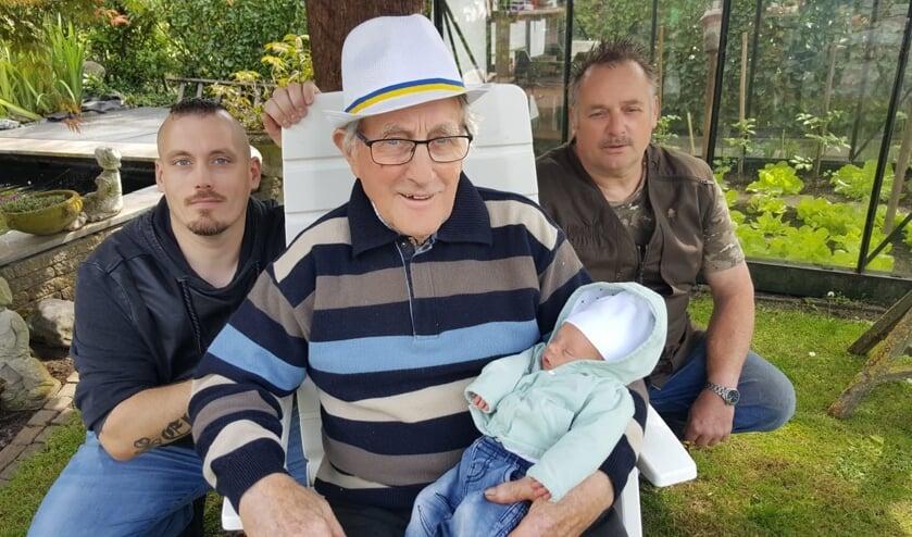 4 generaties Verhaar.