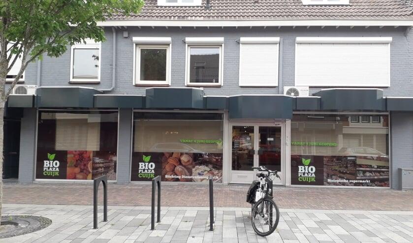 Midden in het centrum van Cuijk opent de nieuwe biologische supermarkt Bioplazacuijk aan de Grotestraat haar deuren.