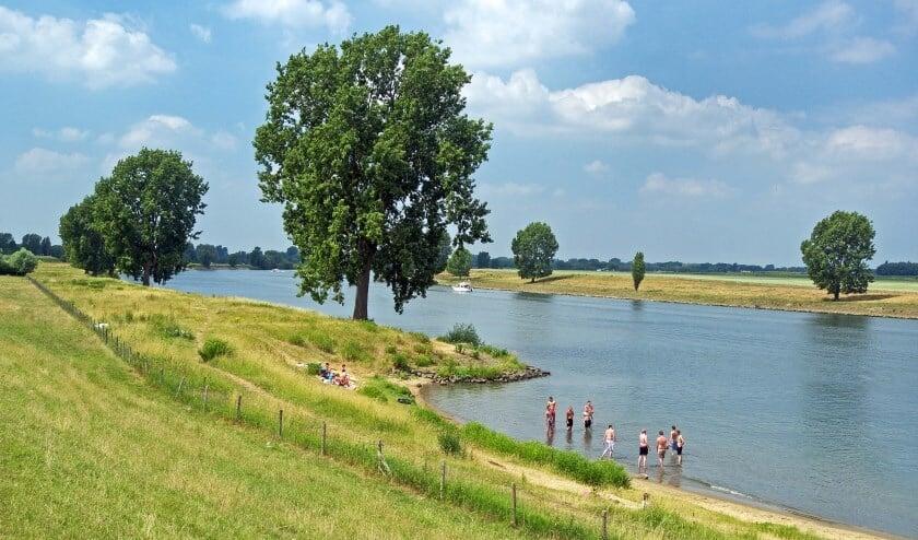Archieffoto van de Maas bij Lith. (Foto: Gertjan Hekelaar)
