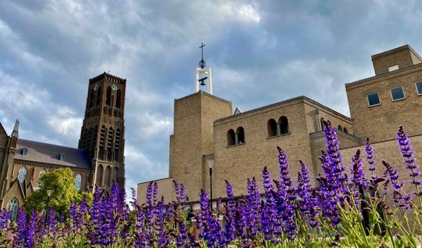<p>Het uitzicht op het voormalige klooster. (Foto: Marleen van Meurs)</p>