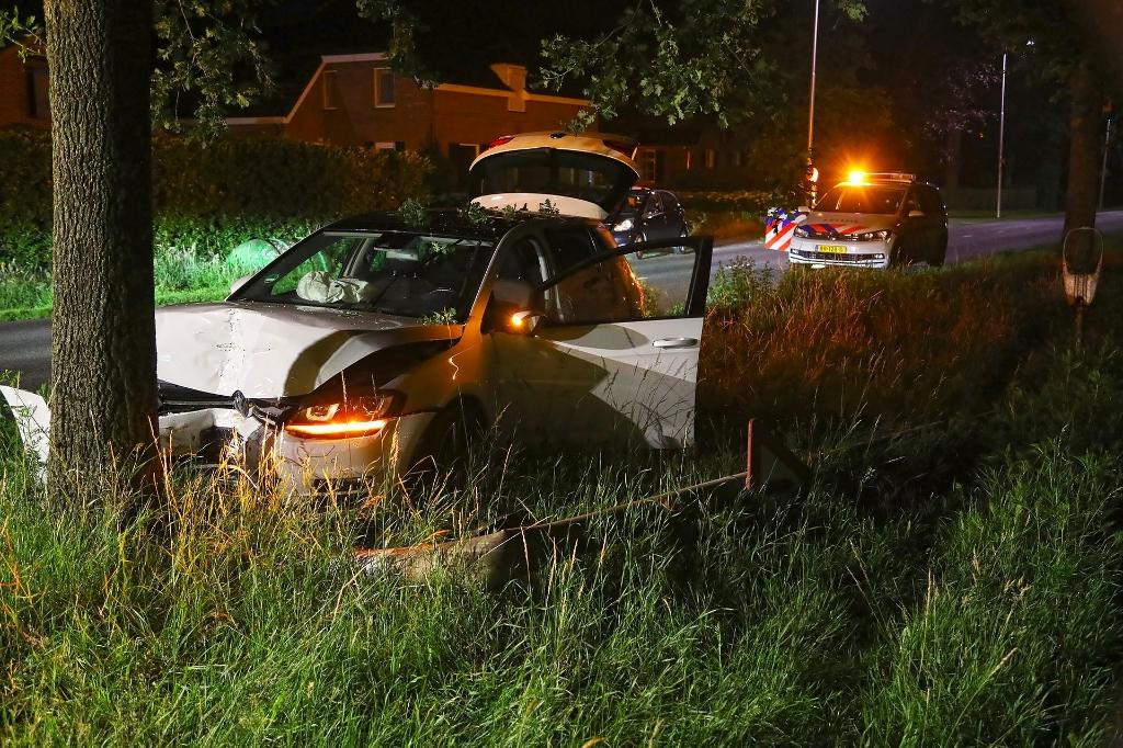 Ongeval op Heihoekstraat. (Foto: Gabor Heeres, Foto Mallo)  © 112 Brabantnieuws