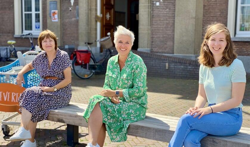 Ellen Coehorst, Natasja de Groot en Jolijn van Rossum zitten alle drie in het organisatieteam.