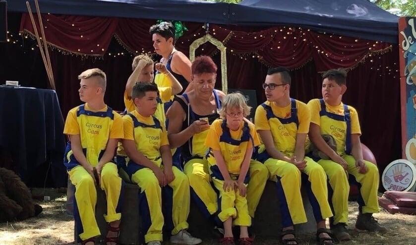 Circus Caps is een Veghels kindercircus voor kinderen met en zonder beperking.