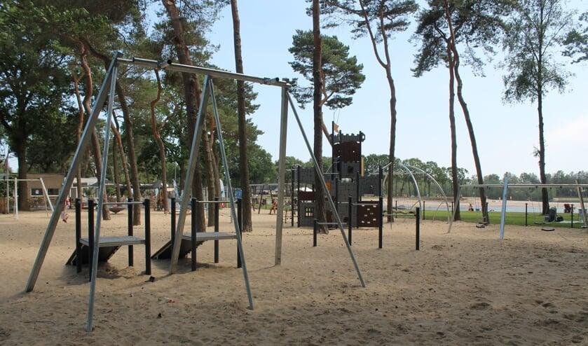 Speeltuin bij Beachclub De Maashorst.