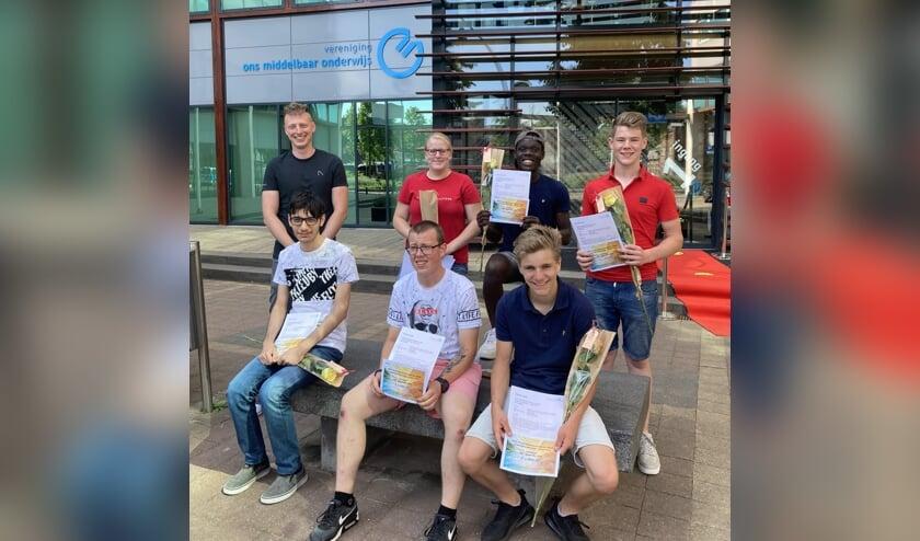 De leerlingen komen respectievelijk uit Uden, Zeeland, Nistelrode, Veghel, Uden en Sint-Oedenrode.