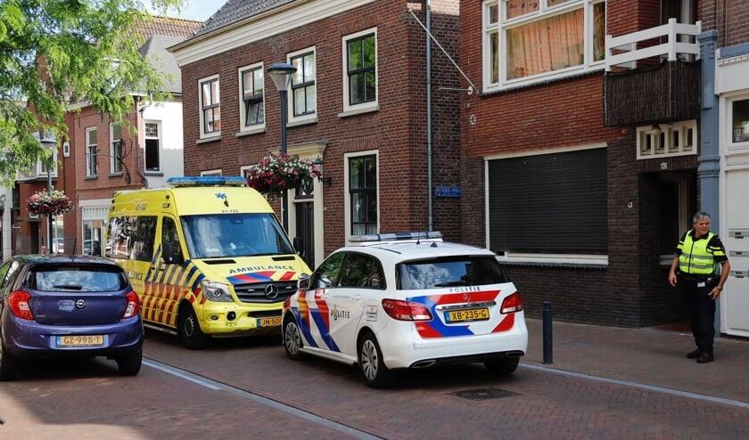 <p>Steekpartij in Steenstraat-Zuid in Boxmeer.</p>