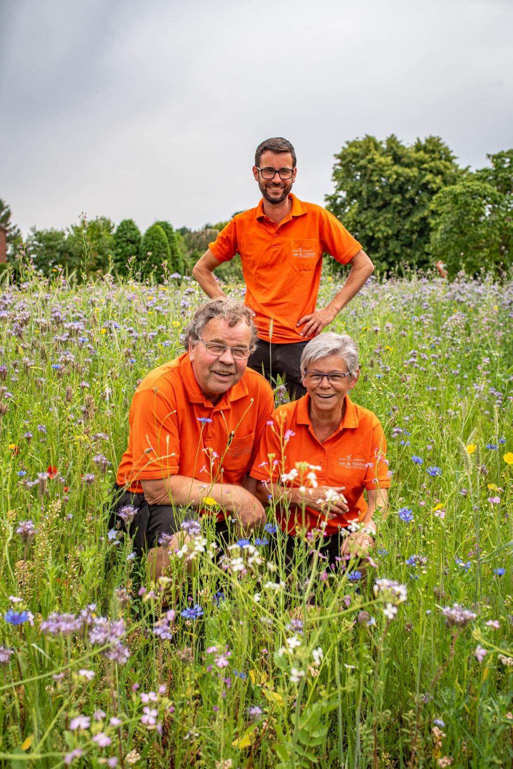 Jan, Gerda en zoon Martijn van de Hulsbeek. (Foto: Katrien Design)