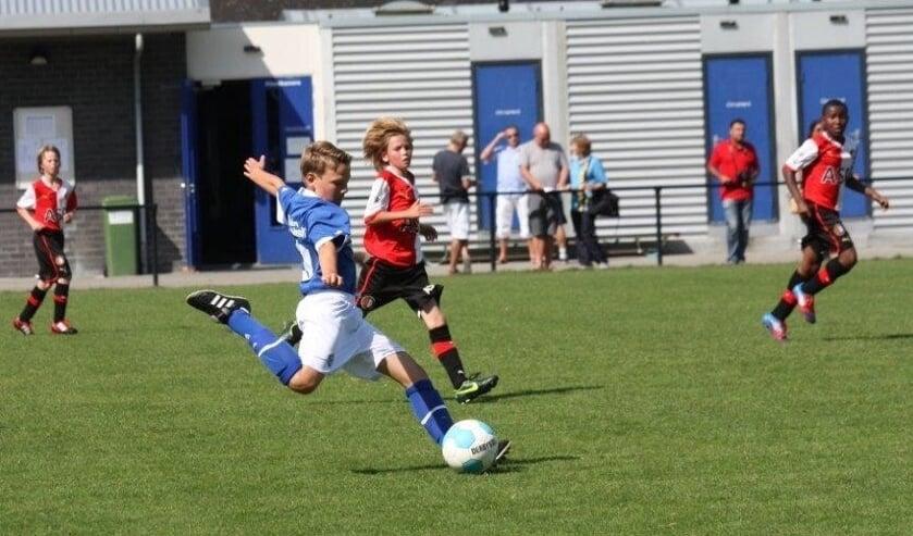 Maurice van Rossem als jeugdspeler van FC Den Bosch.