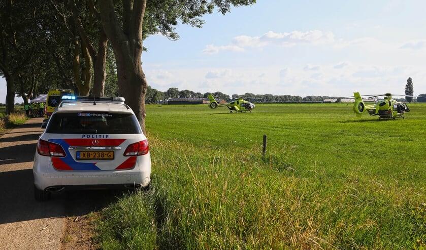 Ernstig ongeval in Lith. (Foto: Gabor Heeres, Foto Mallo)