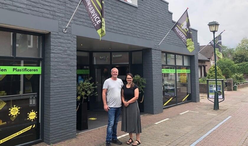 Clemens en Susanne Binkhorst van Printservice Cuijk.