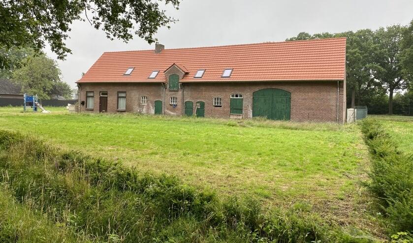 <p>De boerderij en het woonhuis aan de Beukelaarstraat 4 en 5.</p>