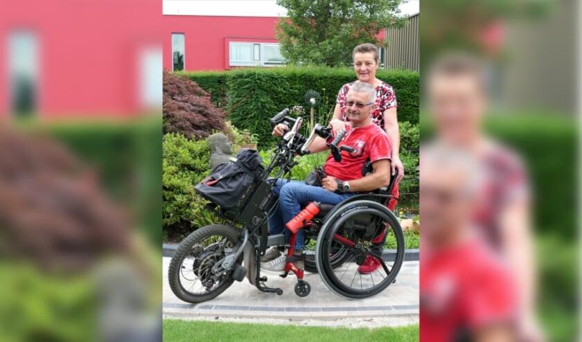 <p>Willy liep 3 jaar geleden als gevolg van een fietsongeluk een hoge dwarslaesie op.</p>