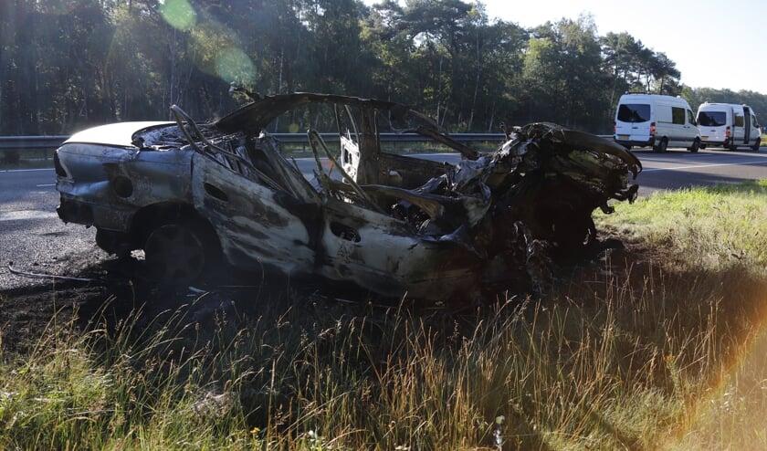 Zwaargewonde bij ongeluk op de A73.