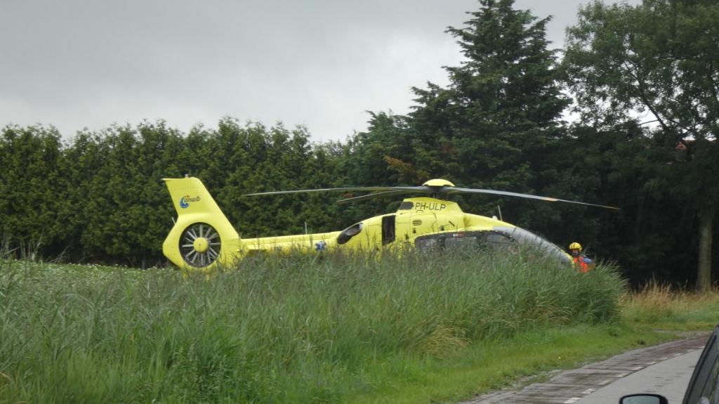 Traumahelikopter. (Foto: Thomas)  © Kliknieuws Oss