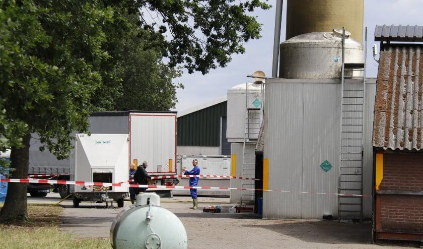 Net als hier in Landhorst zullen ook de Boxmeerse nertsen spoedig worden geruimd.