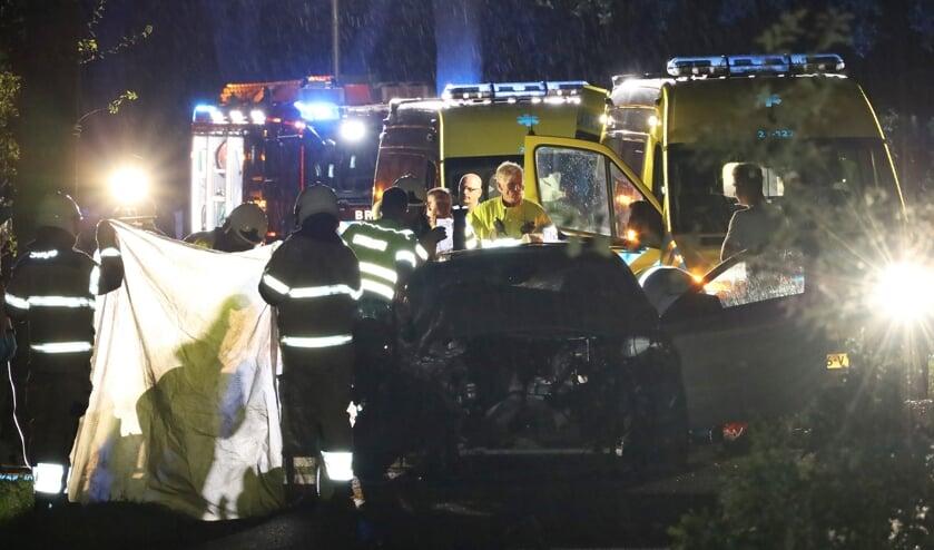 Drie gewonden bij Looieind in Erp. (Kevin Kanters / Foto Mallo)