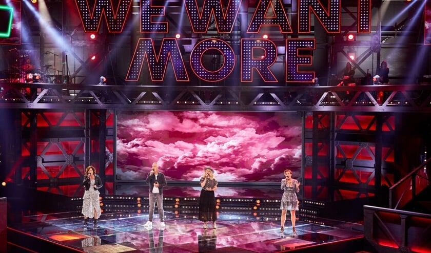 Helaas heeft Angels Rule de finale van 'We want more' niet bereikt.